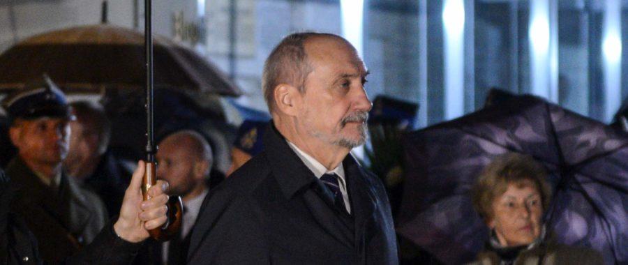 Antoni Macierewicz w Warszawie