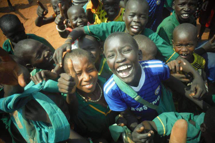 Dzieci w Sudanie Południowym