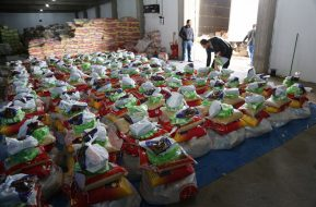 Financial aid to provide food for 13.500 Christian families (IDPs) from Mossul and Nineveh
