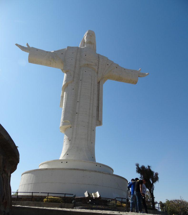 Figura Jezusa Chrystusa w Cochabambie