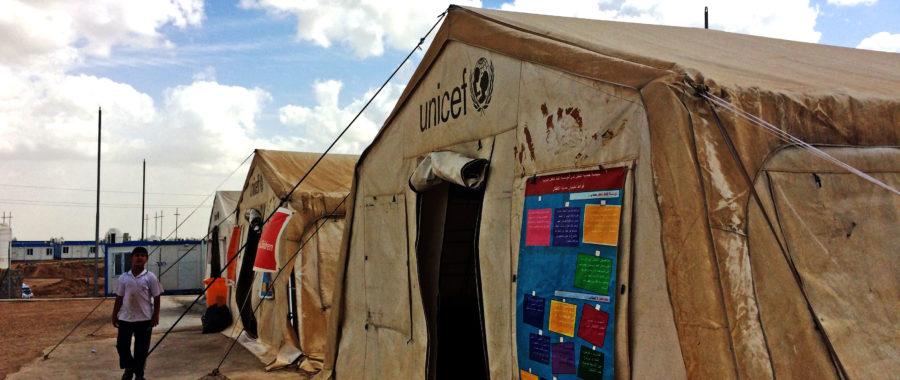 Namiot UNICEF
