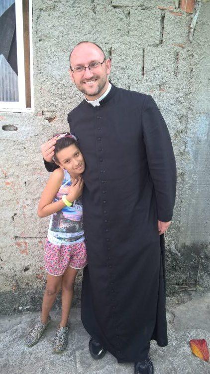 ks. Adam Pawłowski na wolontariacie misyjnym w Brazylii