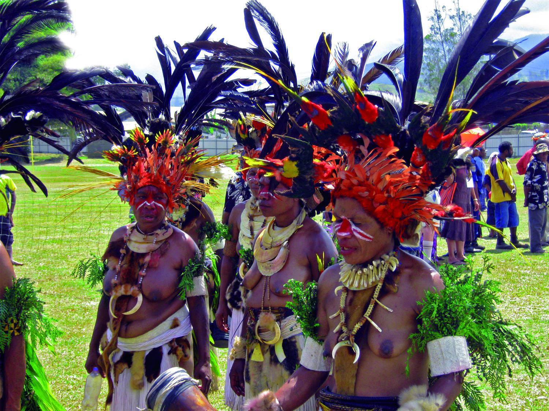 Kobiety z Papui Nowej Gwinei