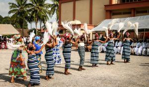 taniec w Ghanie