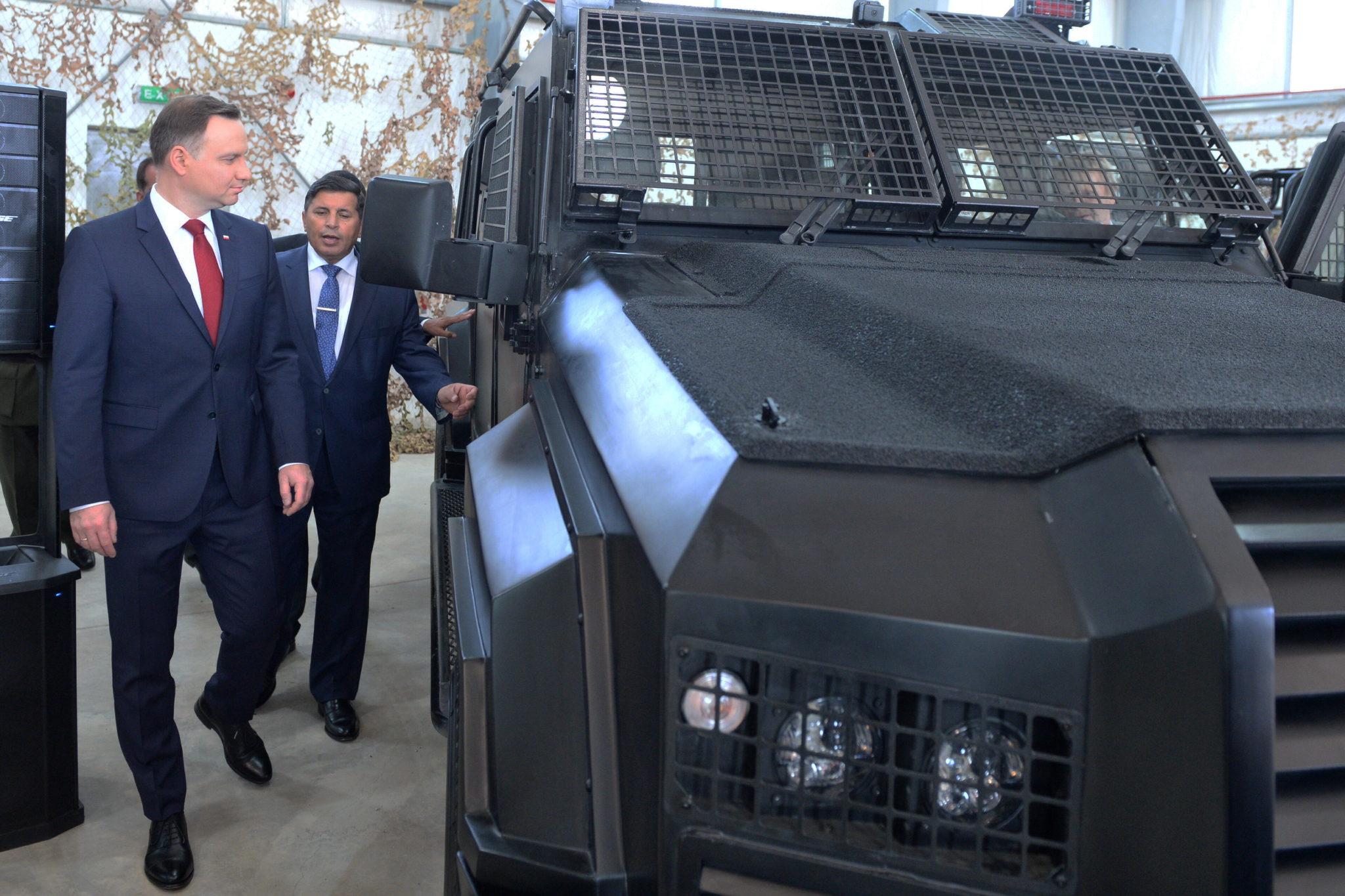 Jordania: wizyta prezydenta Andrzeja Dudy w Jordanii (foto. PAP/Jacek Turczyk)