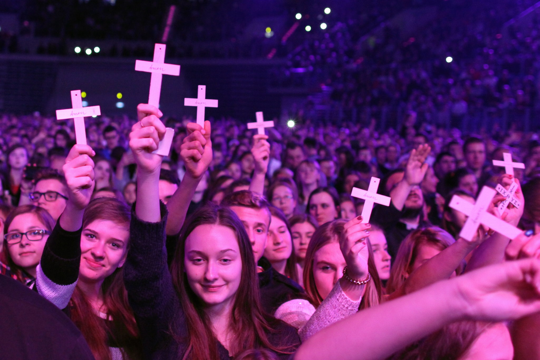 Publicznoœść podczas koncertu
