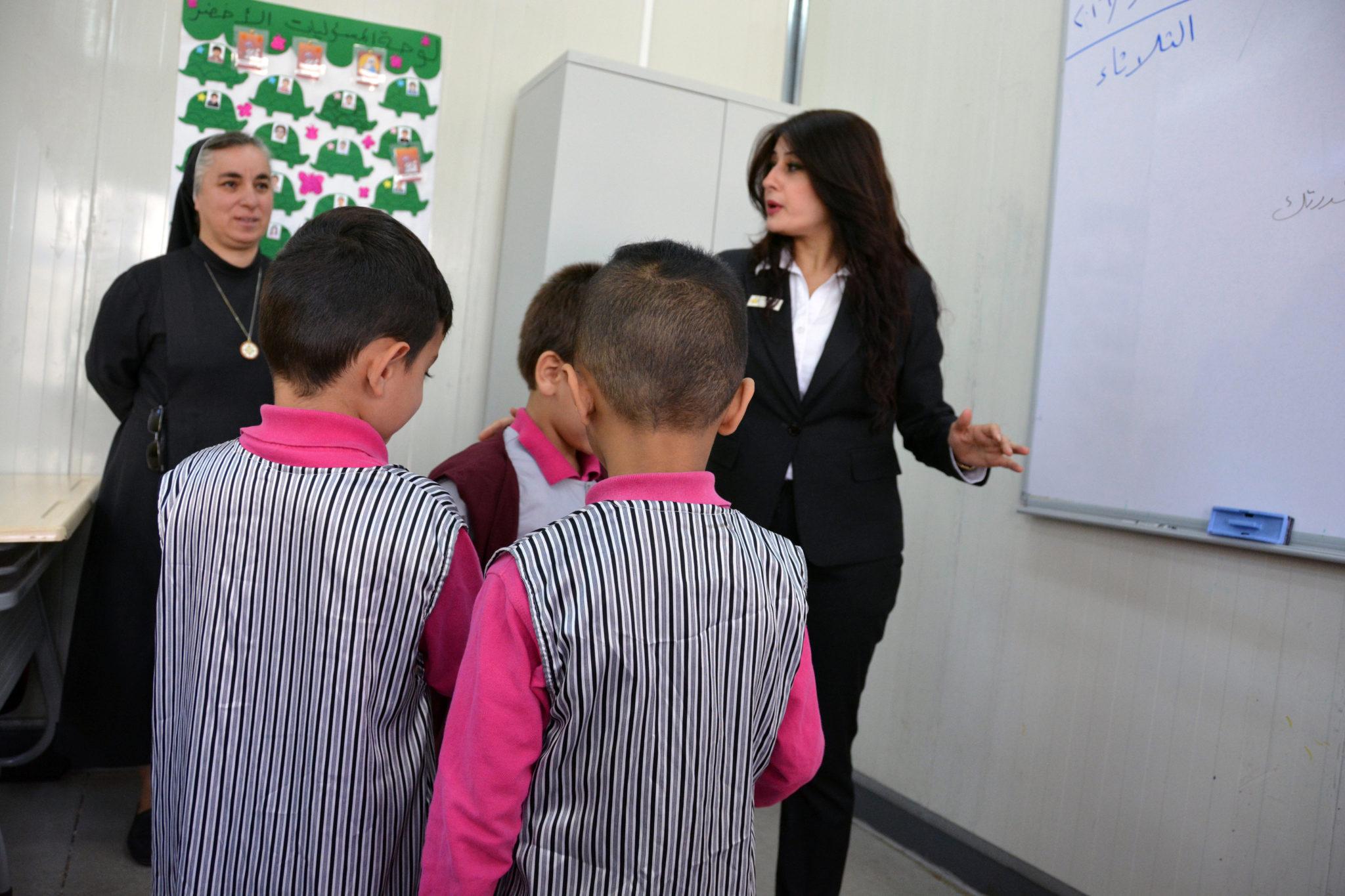 Irak/Erbil: szkoła sióstr Najświętszego Serca Pana Jezusa, w której pracuje Maryam
