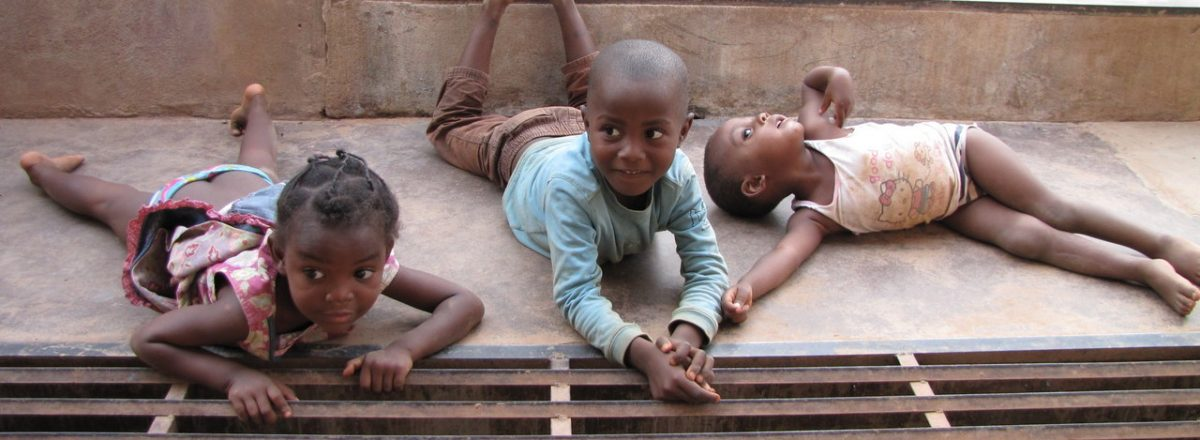 Dzieci w Kamerunie, Fot. o. Dariusz Godawa