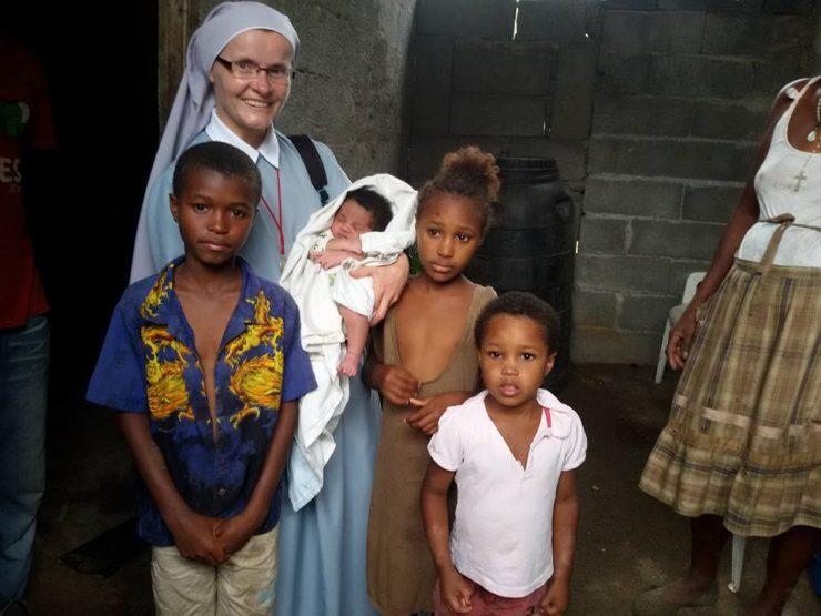 Dzieci z Wysp Zielonego Przylądka, fot. s. Jolanta Burdak SSPC