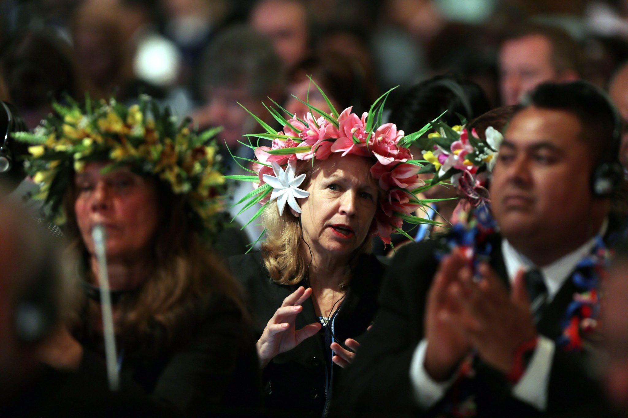 Maroko: konferencja klimatyczna ONZ w Maroko (foto. PAP/EPA/MOHAMED MESSARA)