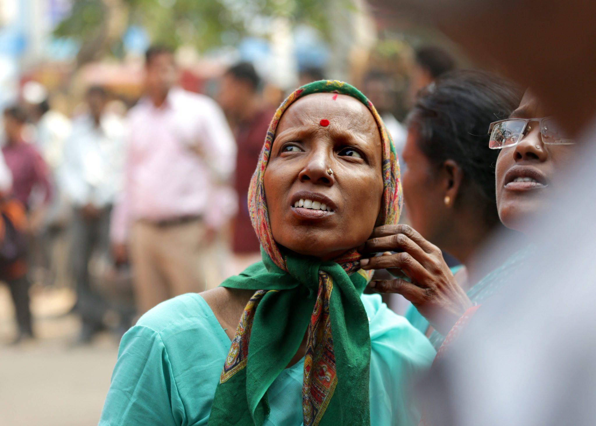 Indie: pożar szpitala w Kalkucie (foto. PAP/EPA/PIYAL ADHIKARY)