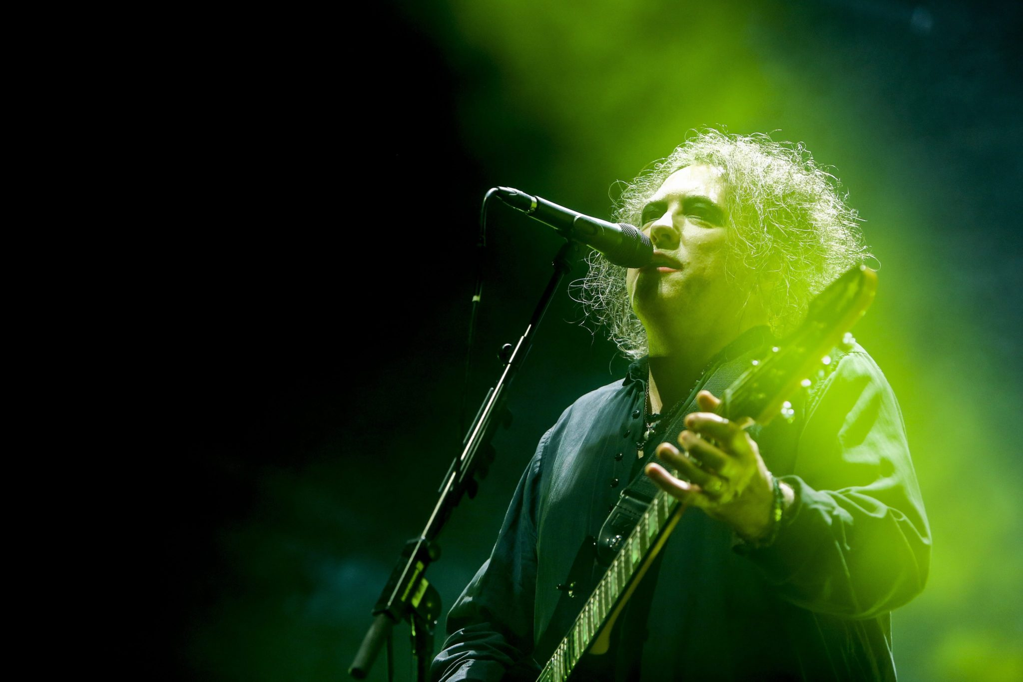 Portugalia: koncert rockowego zespołu The Cure w Lizbonie (foto. PAP/EPA/NUNO FOX)