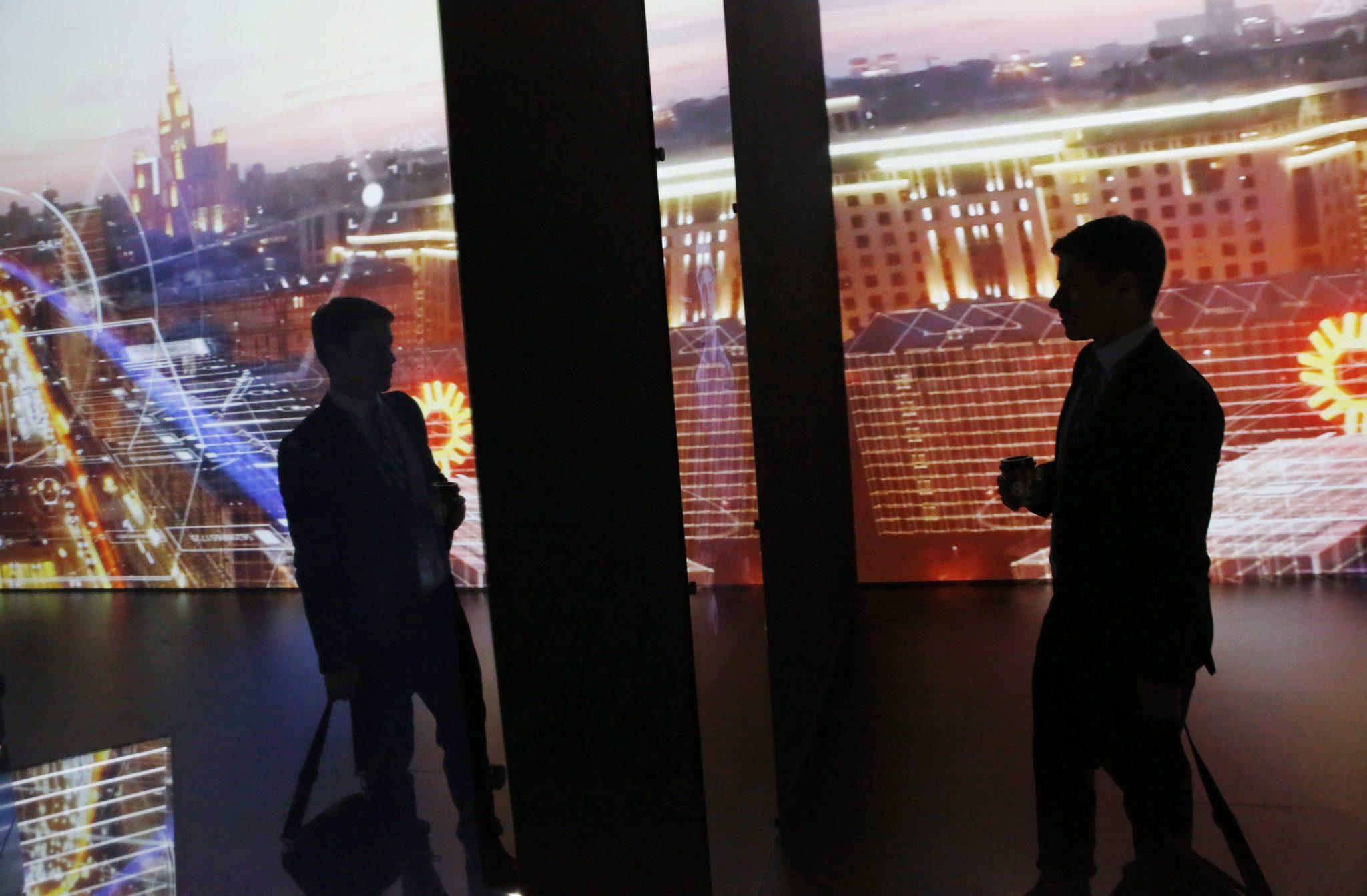 Rosja: Międzynarodowa Wystawa Energii ENES 2016 w Moskwie (foto. PAP/EPA/SERGEI ILNITSKY)