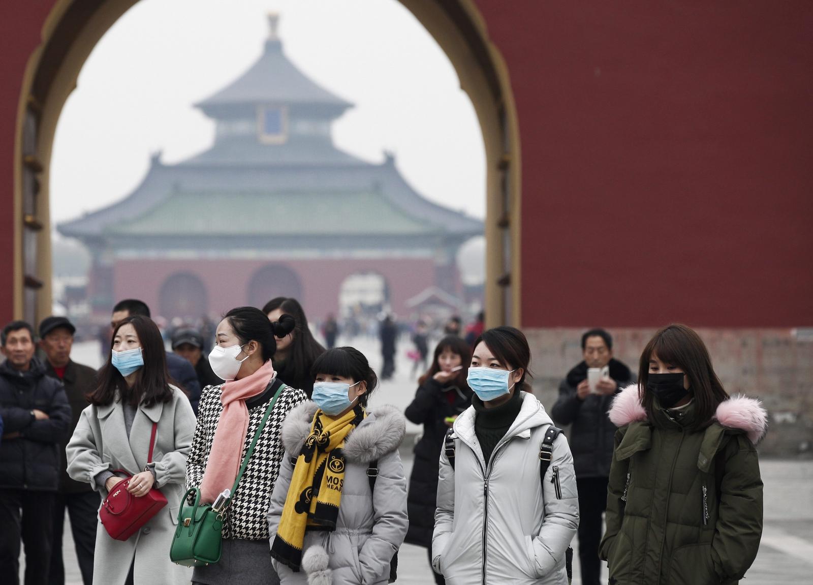 Wysoki poziom smogu w Chinach. Fot. EPA/ROLEX DELA PENA