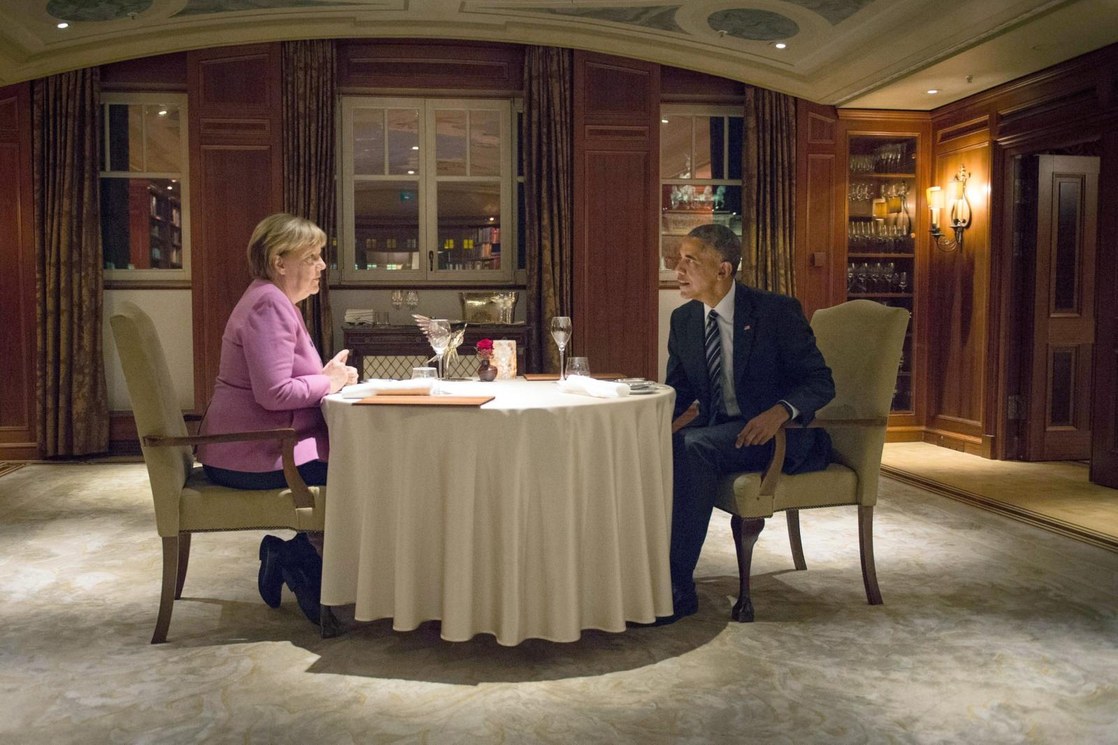Wizyta Baracka Obamy w Niemczech. Fot.EPA/GUIDOBERGMANN / BUNDESREGIERUNG
