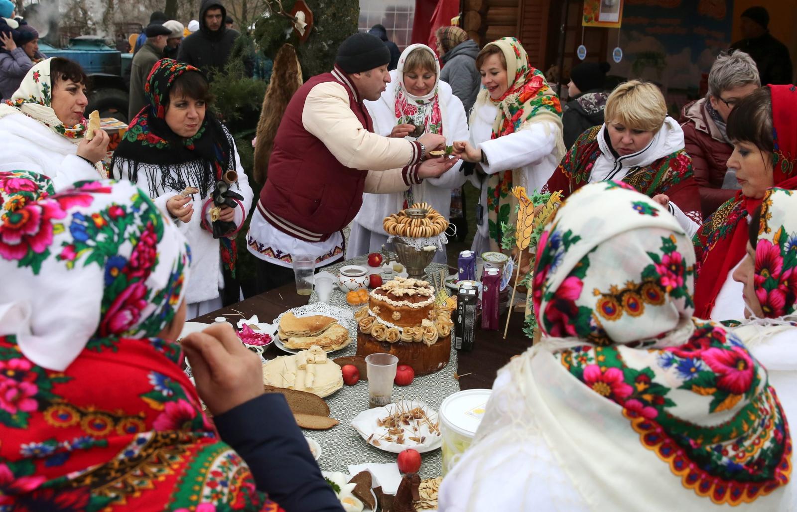 Dożynki na Białorusi. PAP/EPA/TATYANA ZENKOVICH