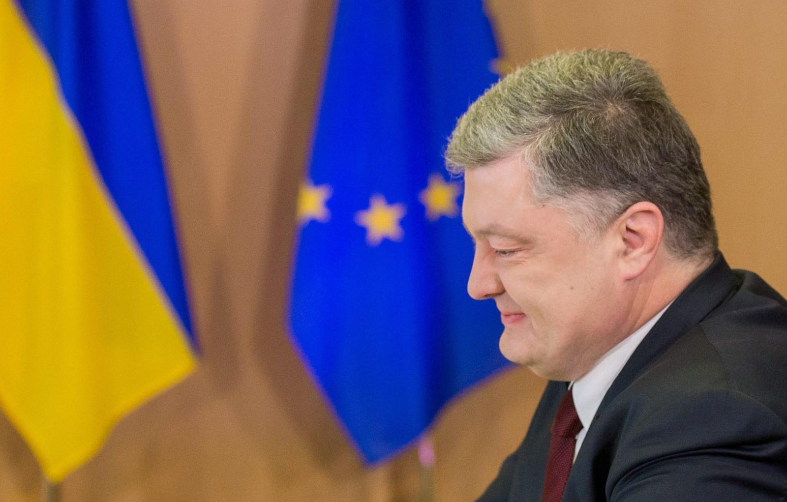 18. szczyt UE-Ukraina z udziałem ukraińskiego prezydenta Petra Poroszenki w Brukseli. Fot. PAP/EPA/STEPHANIE LEOCOQ