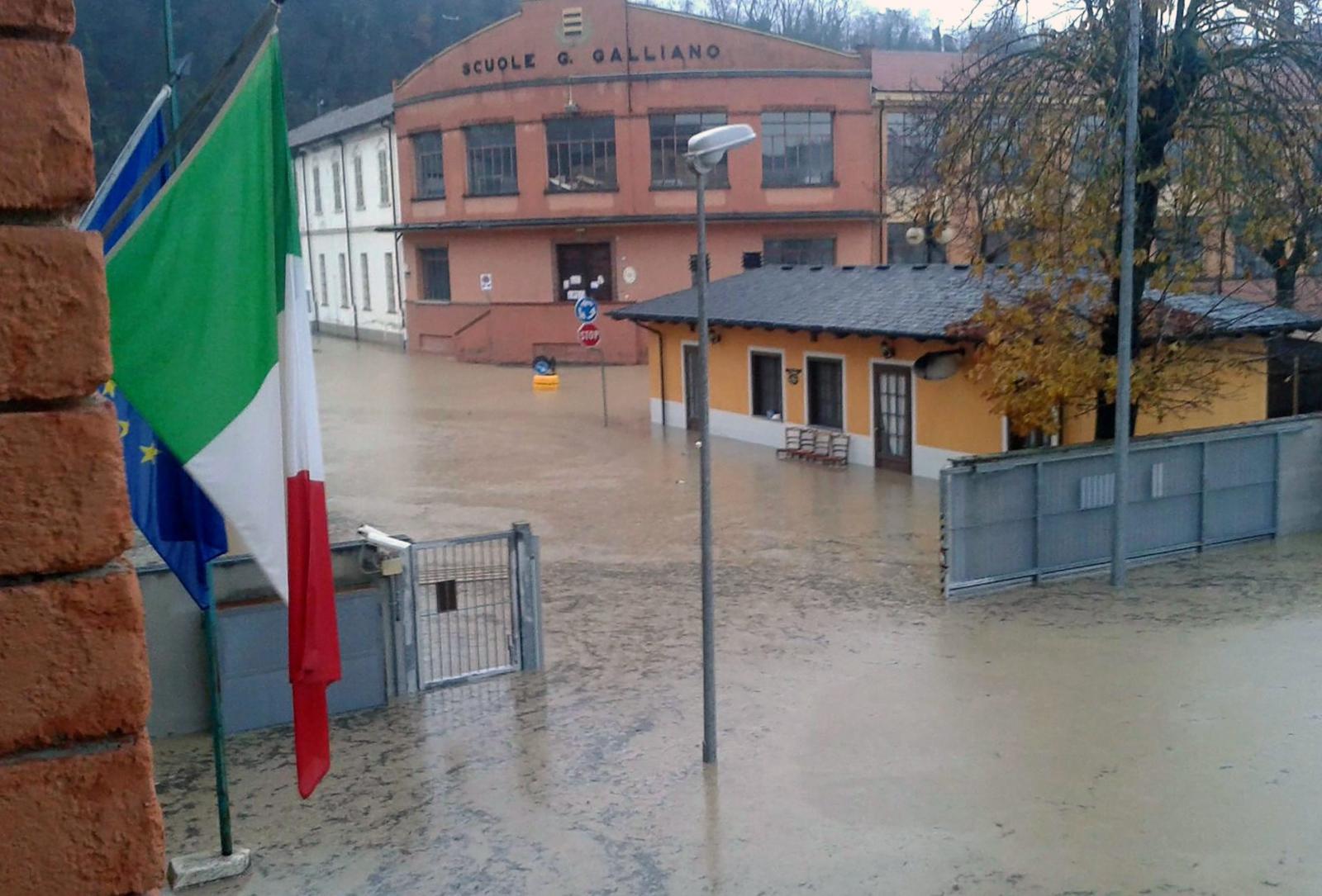 Powodzie we Włoszech.  Fot. PAP/EPA/ALESSANDRO DI MARCO