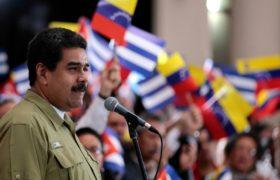 Nicolas Maduro. fot. EPA/MIRAFLORES