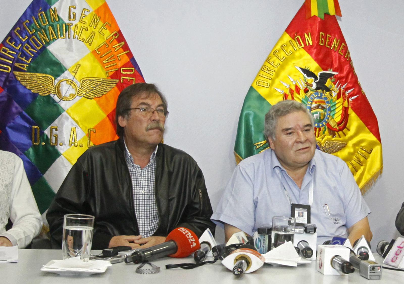 Boliwijscy specjaliści lotnictwa komentują kolumbijską katastrofę.