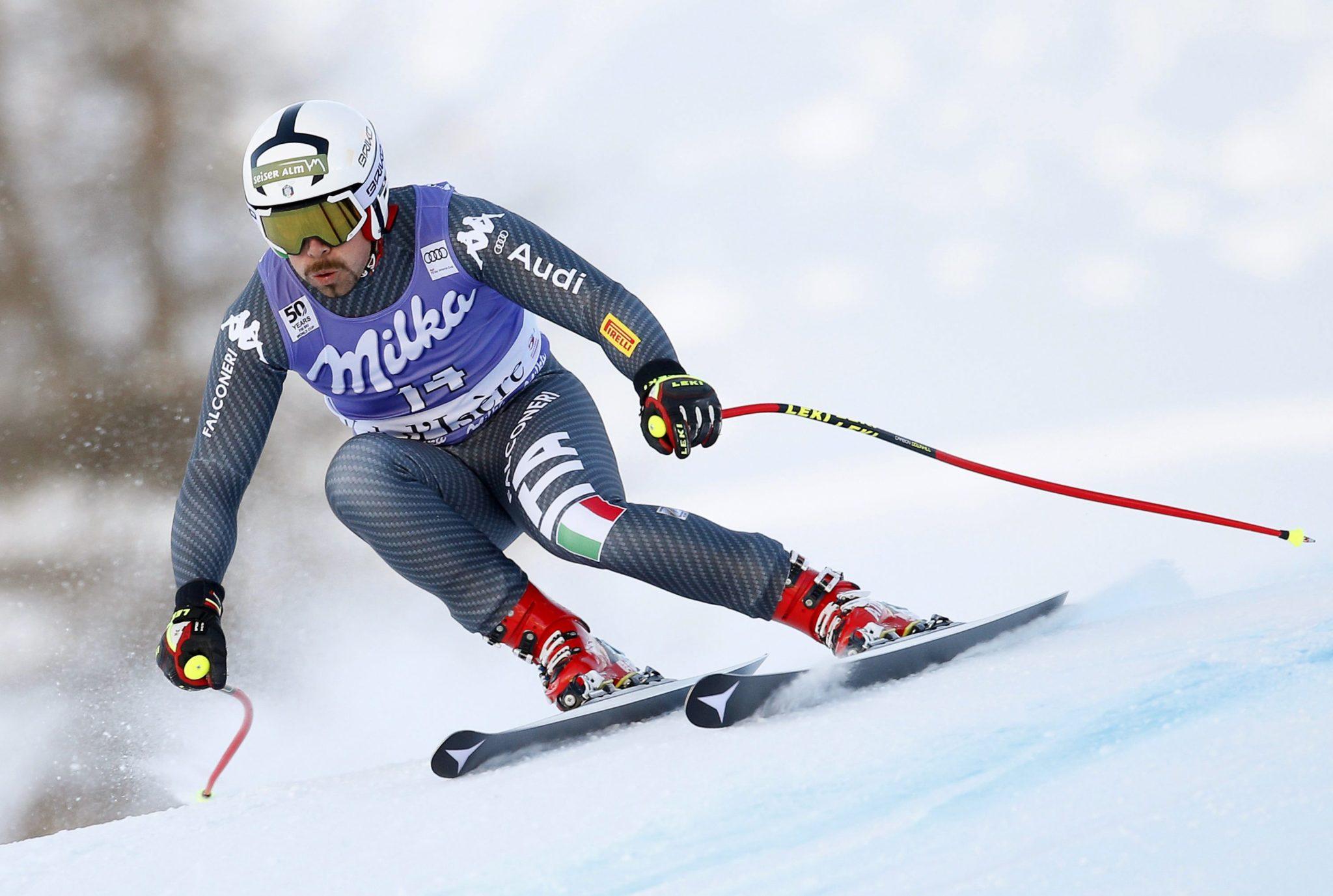 Francja: zawody pucharu świata w narciarstwie alpejskim w Val d'lsere (foto. PAP/EPA/GUILLAUME HORCAJUELO)