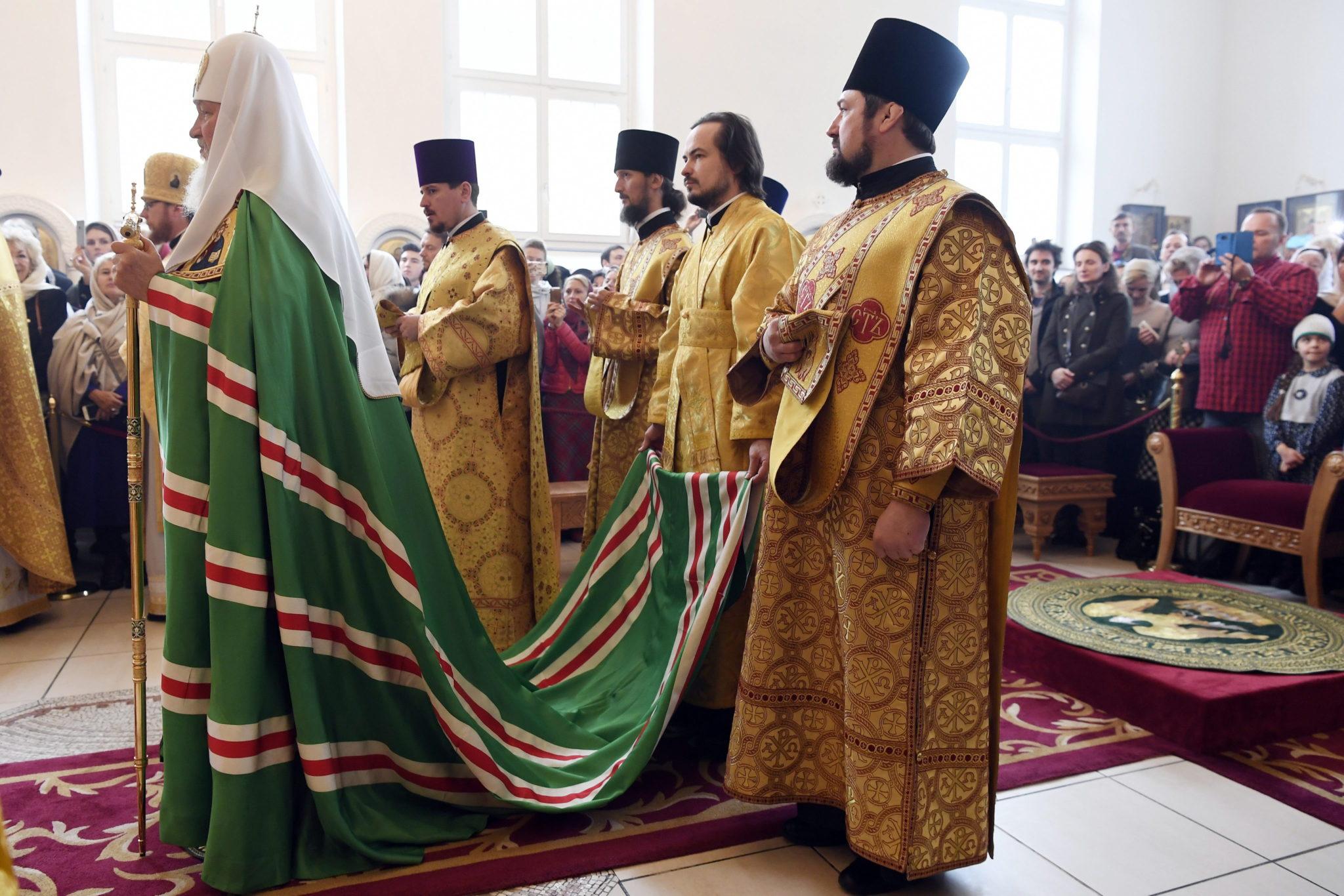 Szwajcaria: wizyta Prawosławnego Patriarchy Moskiewskiego Cyryla (foto. EPA/WALTER BIERI)