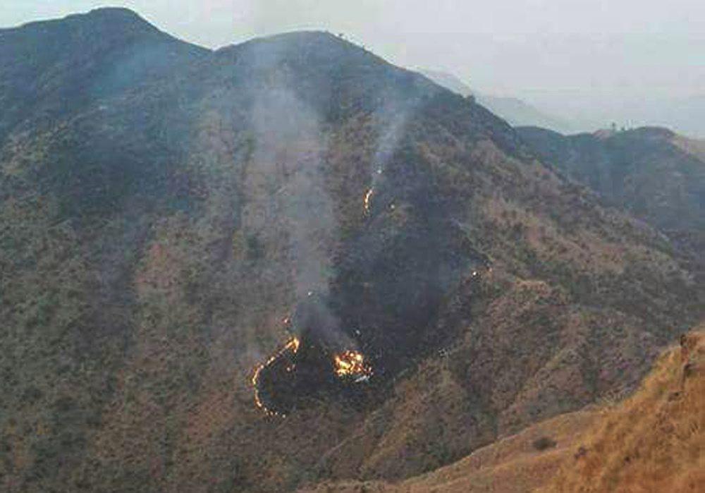Pakistan: katastrofa pasażerskiego samolotu (foto. PAP/EPA/STRINGER BEST)