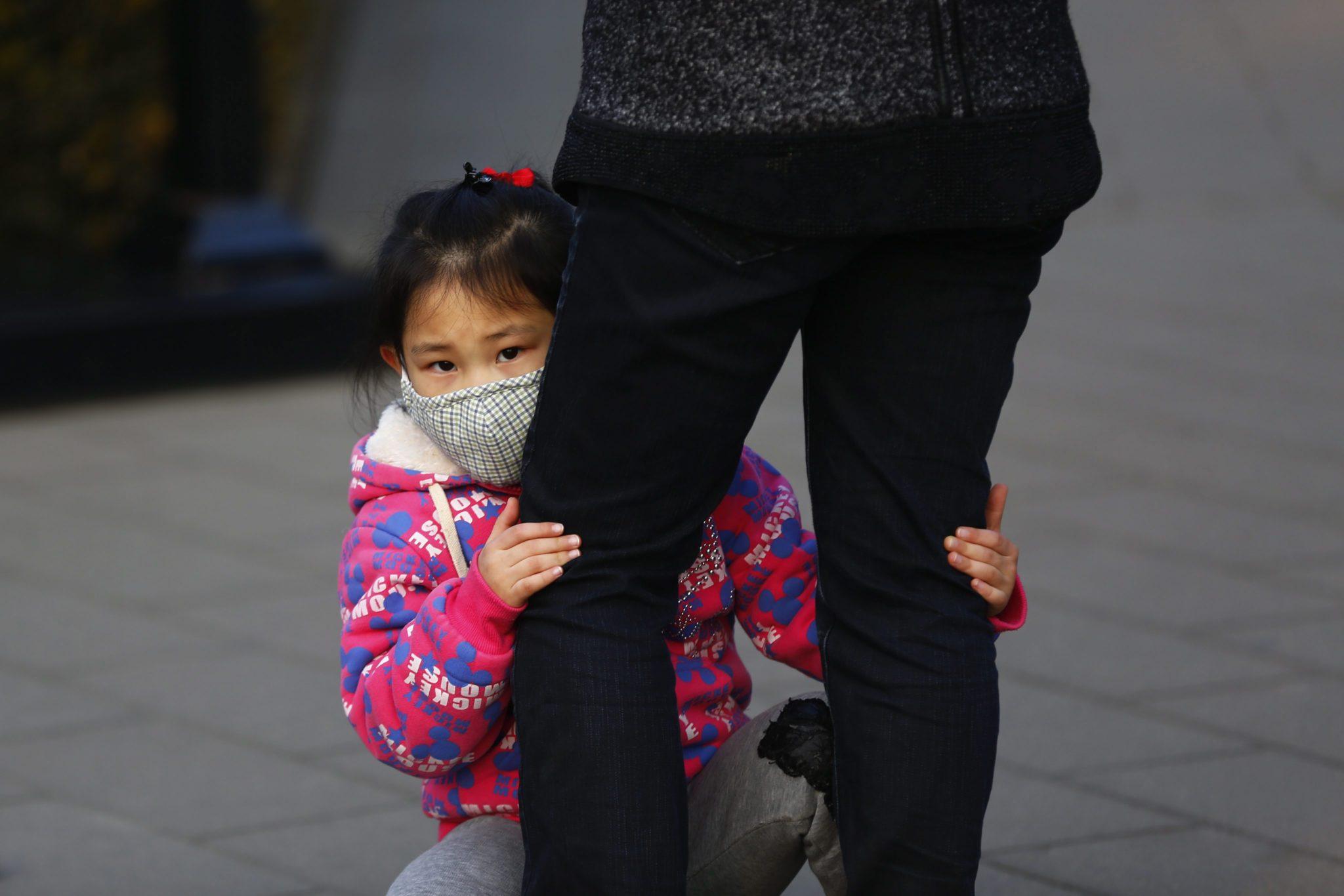 Chiny: wzrost poziomu zanieczyszczenia w Pekinie wciąż wzrasta (foto. PAP/EPA/WU HONG)