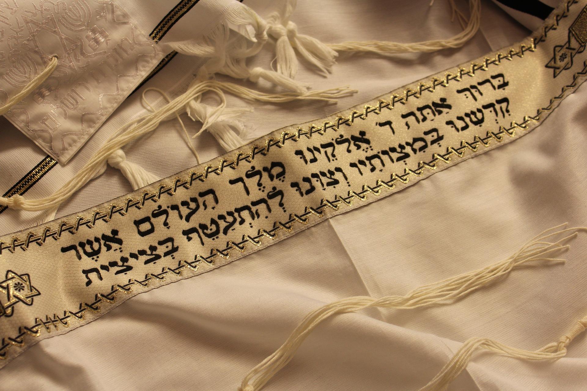 judaizm Żydzi talit