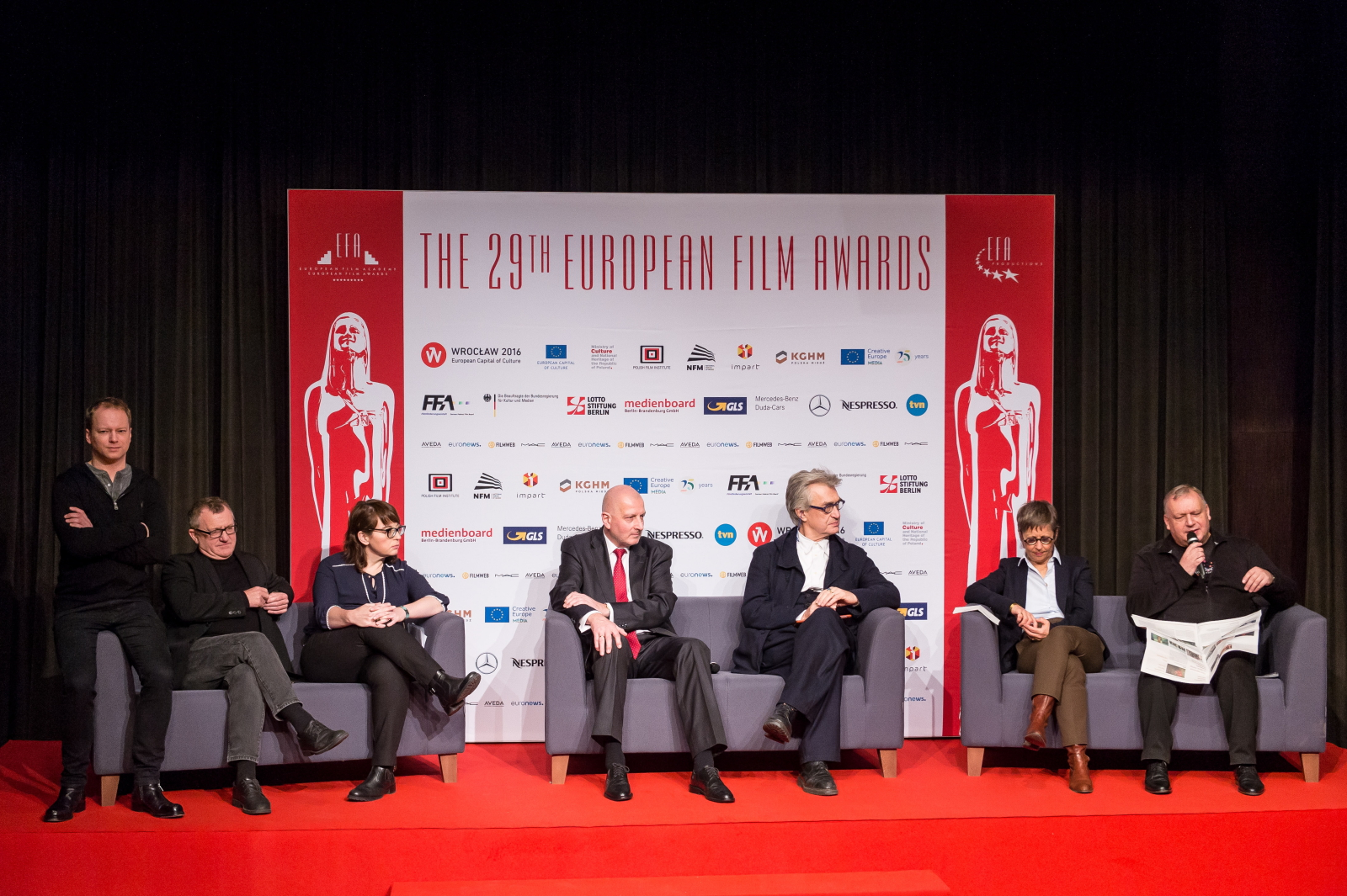 Gala Europejskich Nagród Filmowych we Wrocławiu. Fot. PAP/Maciej Kulczyński
