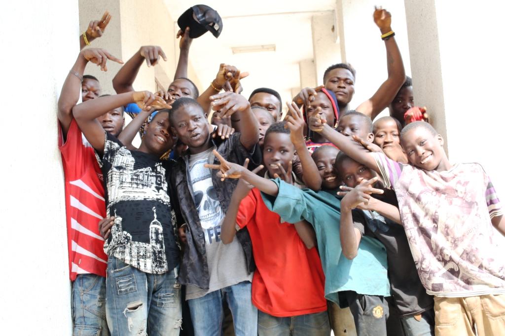 fot. Salezjanie w Nigerii Otwarcie Bosco Boys Project