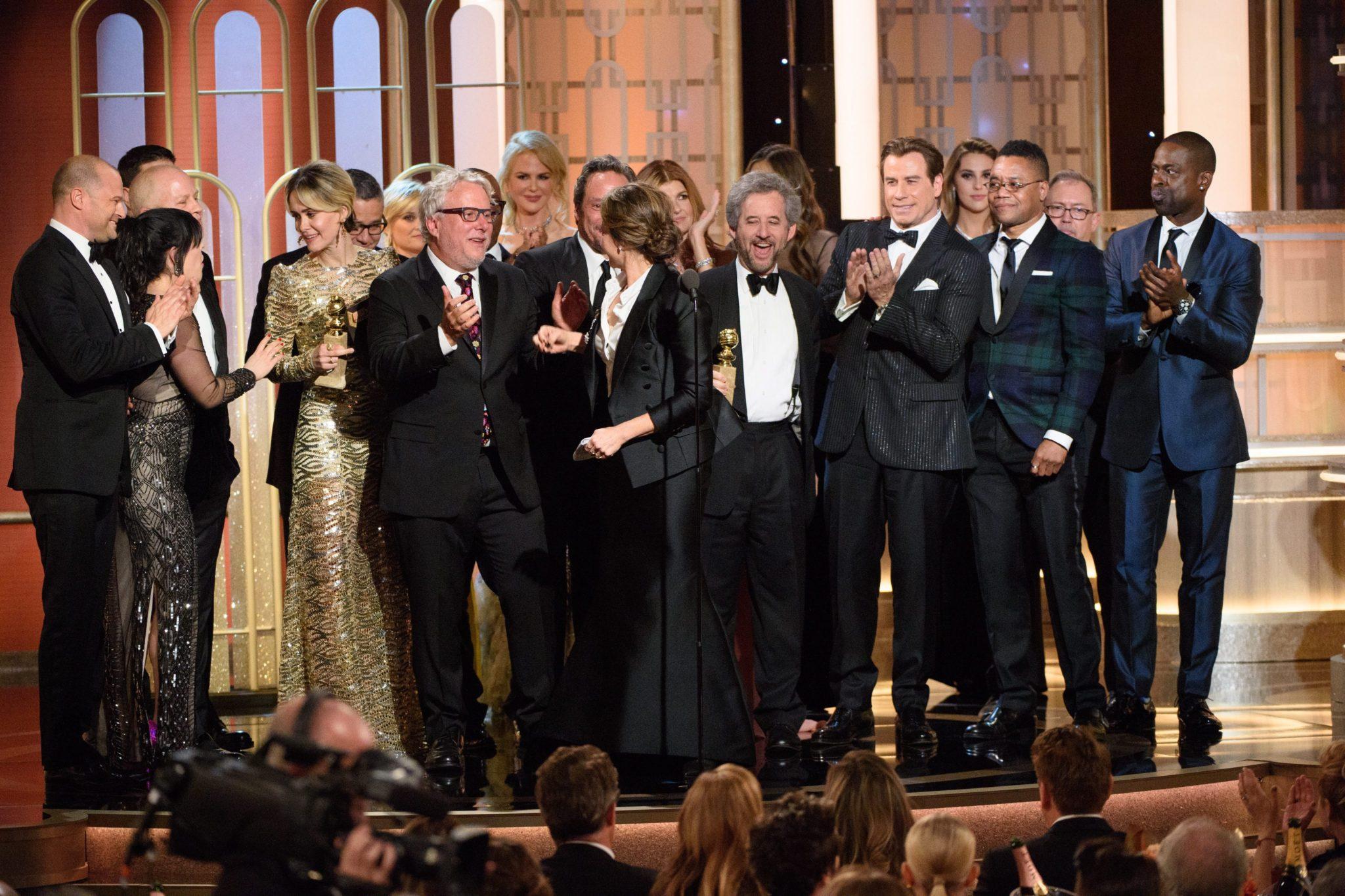 USA: 74 Ceremonia wręczenia Złotych Globów w Beverly Hills (foto. PAP/EPA/HFPA)