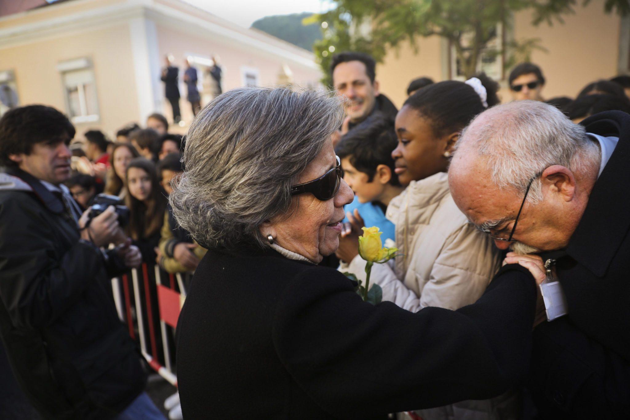 Portugalia: pogrzeb byłego prezydenta Portugalii Mario Soaresa w Lizbonie (foto. PAP/EPA/MARIO CRUZ)