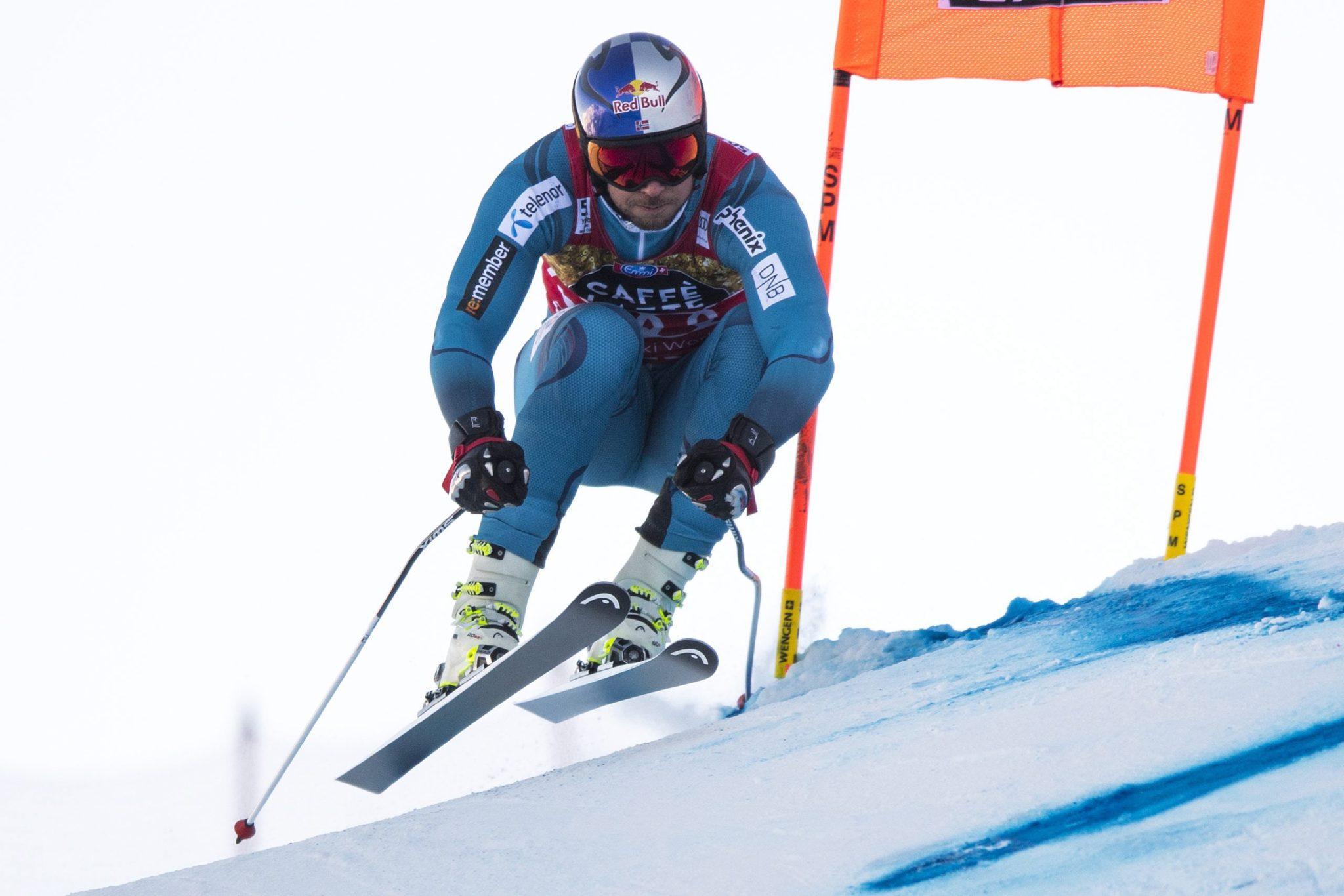 Szwajcaria: zawody narciarstwie alpejskim mężczyzn w ramach Pucharu Świata rozgrywane w Lauberhorn (foto. PAP/EPA/PETER SCHNEIDER)