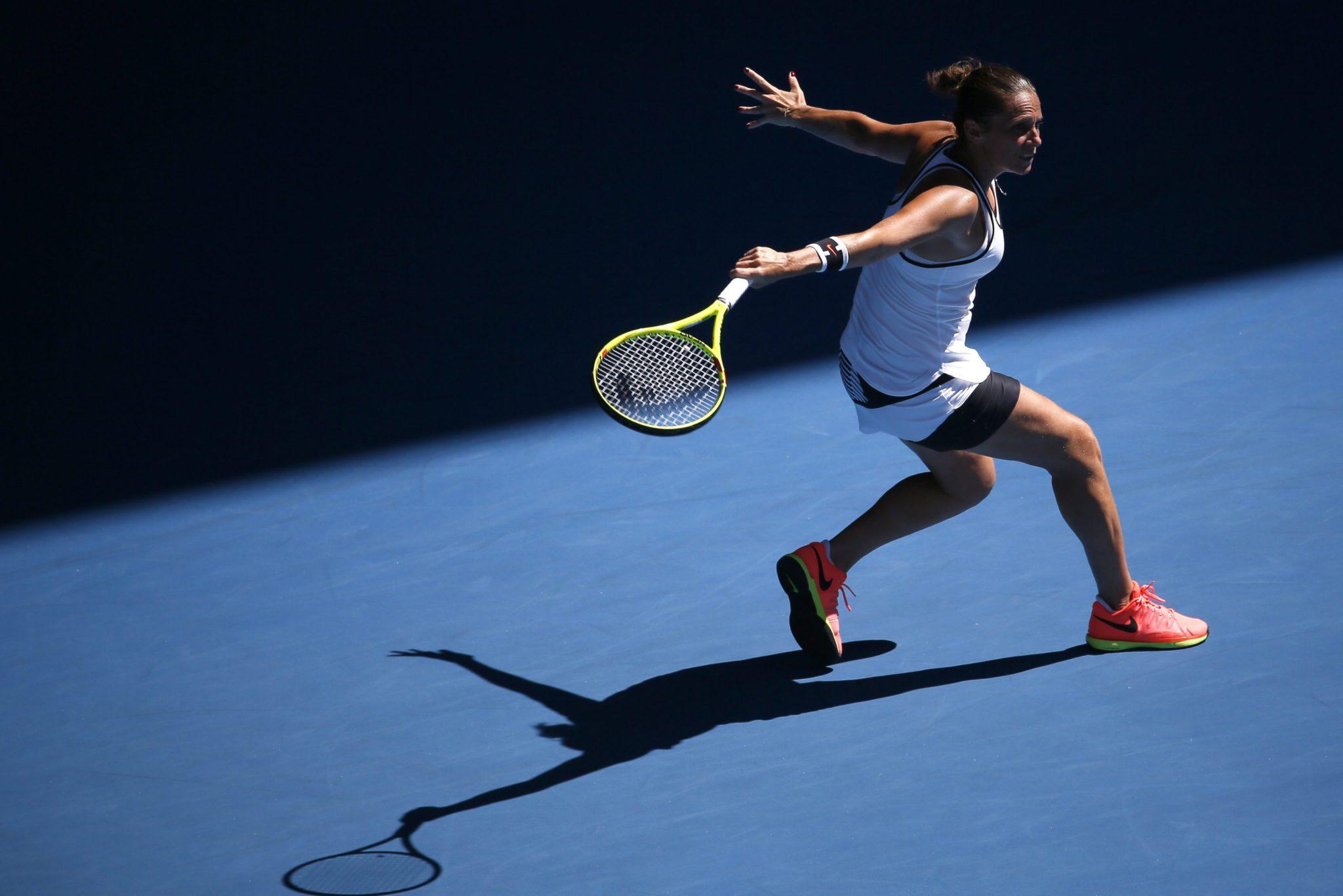 Australia: Turniej WIelkiego Szlema w ramach Australian Open 2017 w Melbourne (foto. PAP/EPA/MADE NAGI)