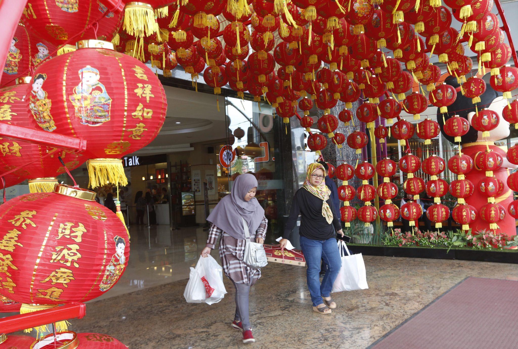 Indonezja: przygotowania do inauguracji nowego roku w Bogor (foto. PAP/EPA/ADI WEDA)