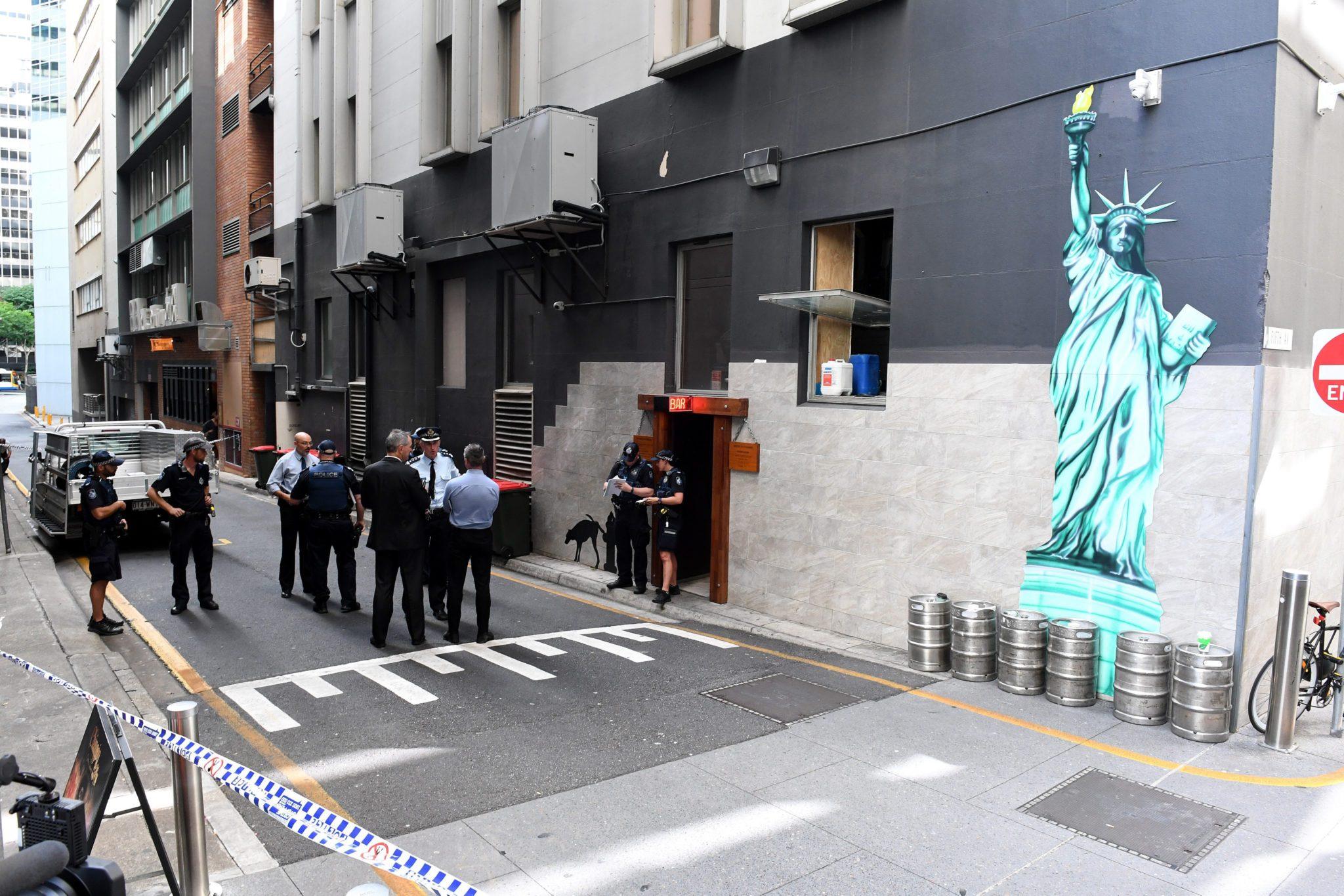 Australia: strzelanina w Brisbane, w trakcie której zginęła jedna osoba (foto. PAP/EPA/DAVE HUNT)