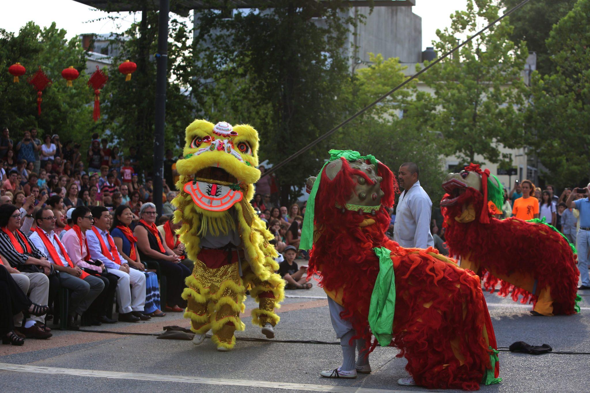 Urugwaj: obchody chińskiego nowego roku w Montevideo (foto. PAP/EPA/MARIA EUGENIA FERNANDEZ)