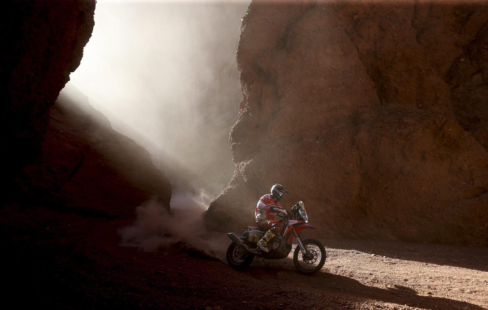 Rajd Dakar 2017. fot. EPA/DAVID FERNANDEZ