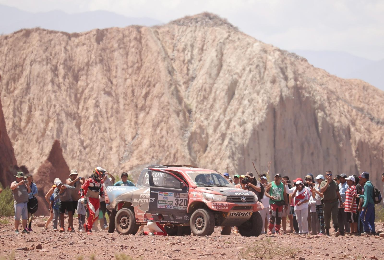Rajd Dakar 2017 fot. EPA/NICOLAS AGUILERA