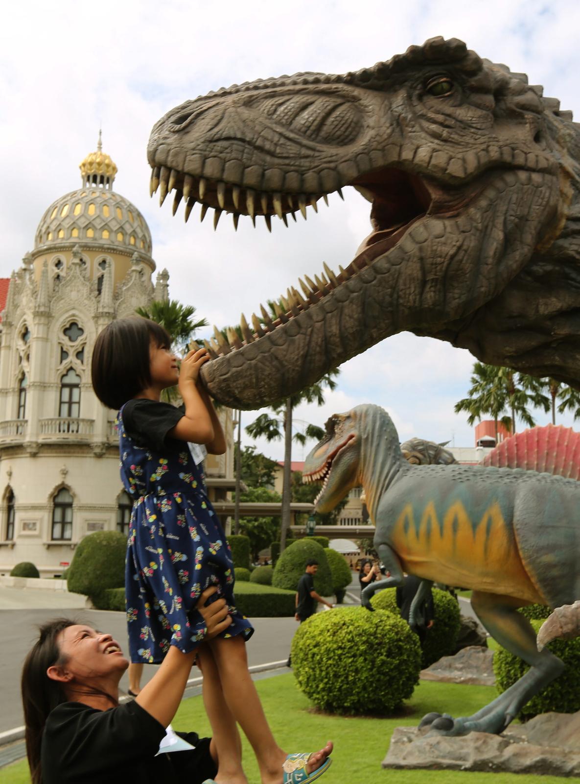 Dzień Dziecka w Tajlandii.  Fot. PAP/EPA/NARONG SANGNAK