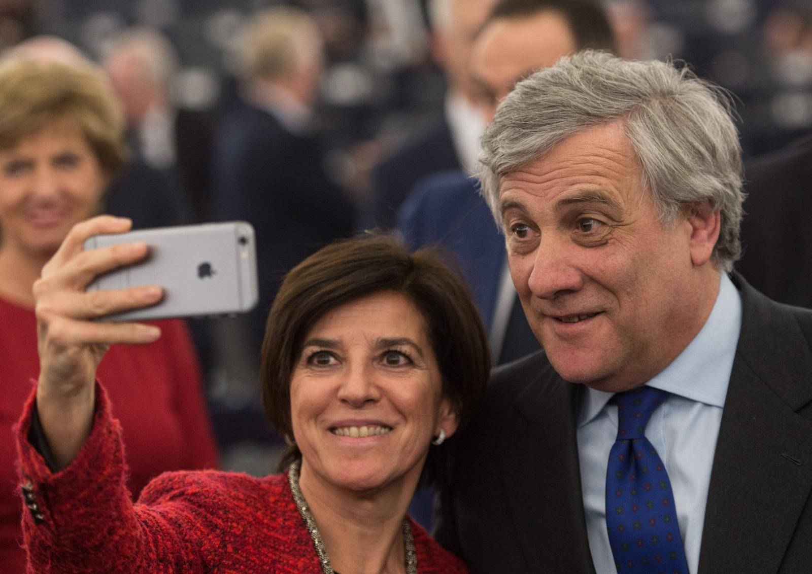 Atnonio Tajani nowym przewodniczącym Parlamentu Europejskiego.