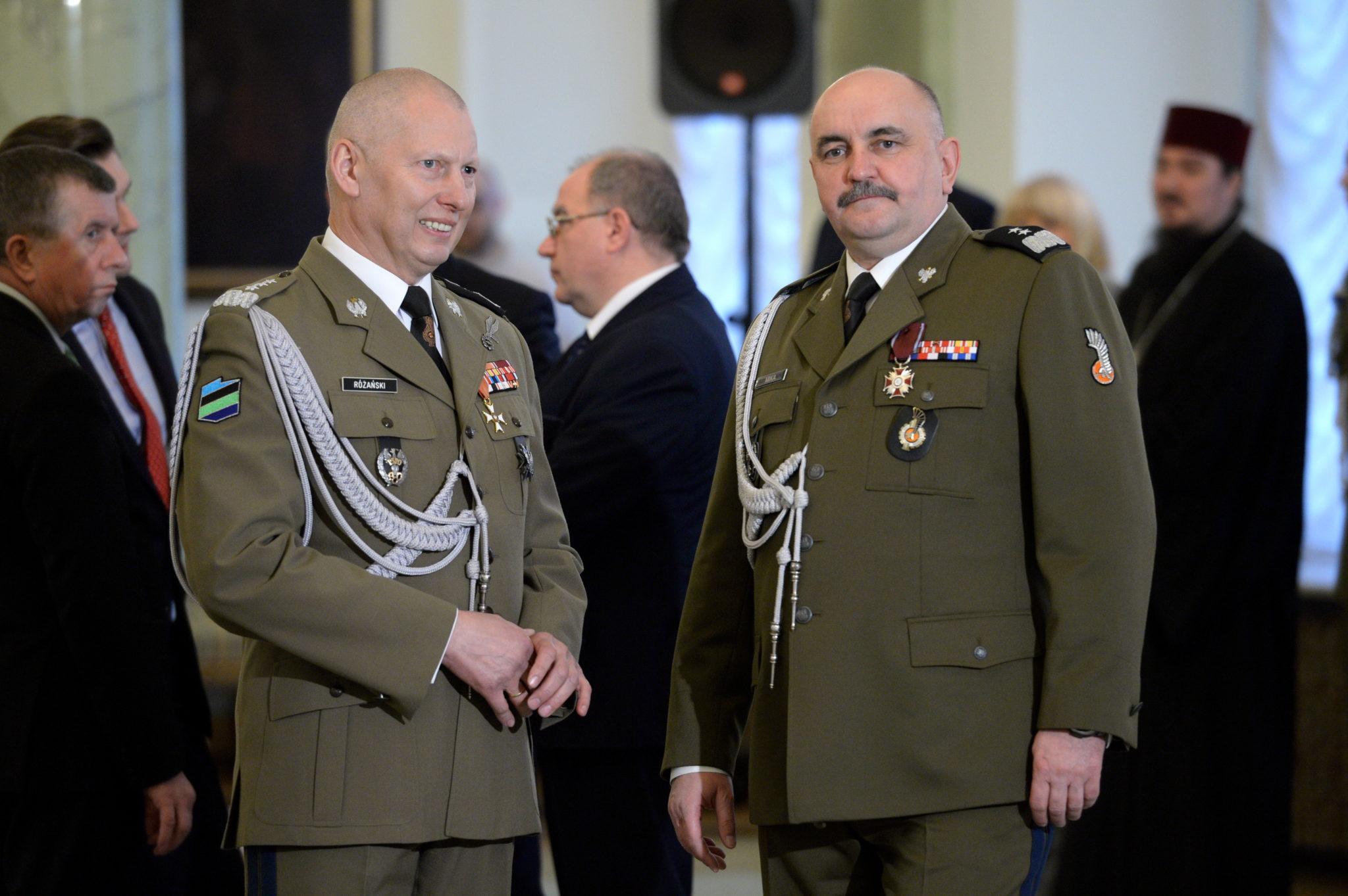 Polska: nominacja gen. Jarosława Miki na Dowódcę Generalnego Polskich Sił Zbrojnych (foto. PAP/Jacek Turczyk)