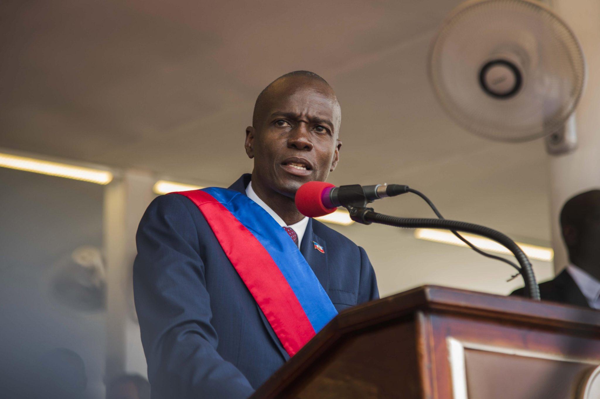 Haiti: ceremonia inauguracji prezydentury 58 prezydenta Haiti w Port au Prince (fotp. PAP/EPA/JEAN MARC HERVE ABELARD)