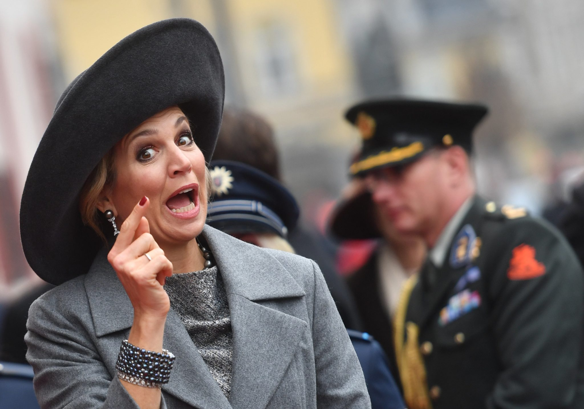 Niemcy: wizyta holenderskiej pary królewskiej w Berlinie (foto. PAP/EPA/OLIVER LANG)