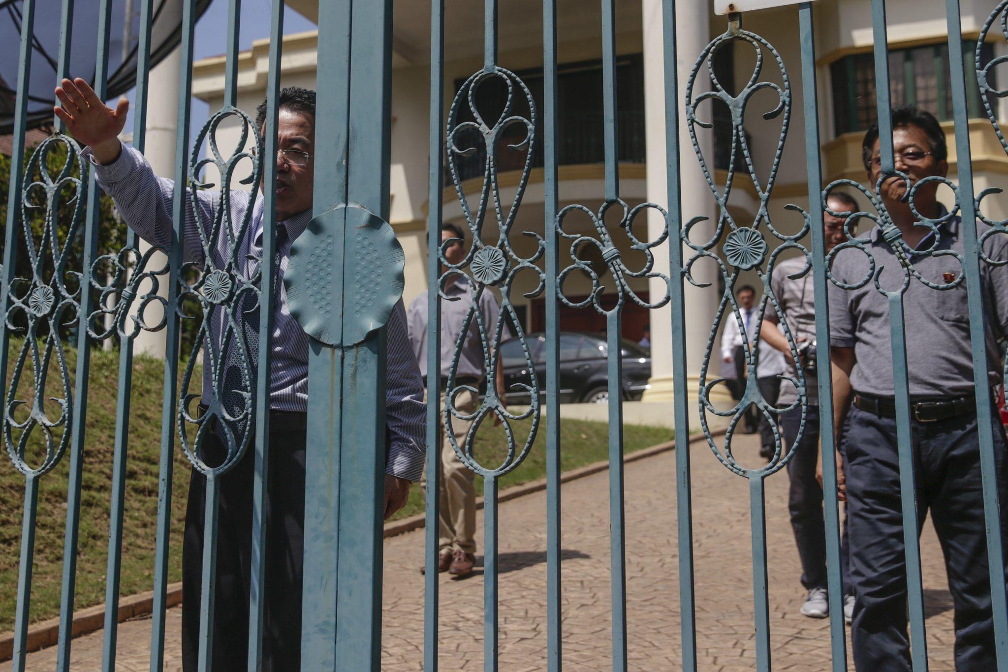 Malezja: konferencja prasowa w sprawie zabójstwa Kim Jong Nama, przyrodniego brata Kim Dzon Una w Kuala Lumpur (foto. PAP/EPA/FAZRY ISMAIL)