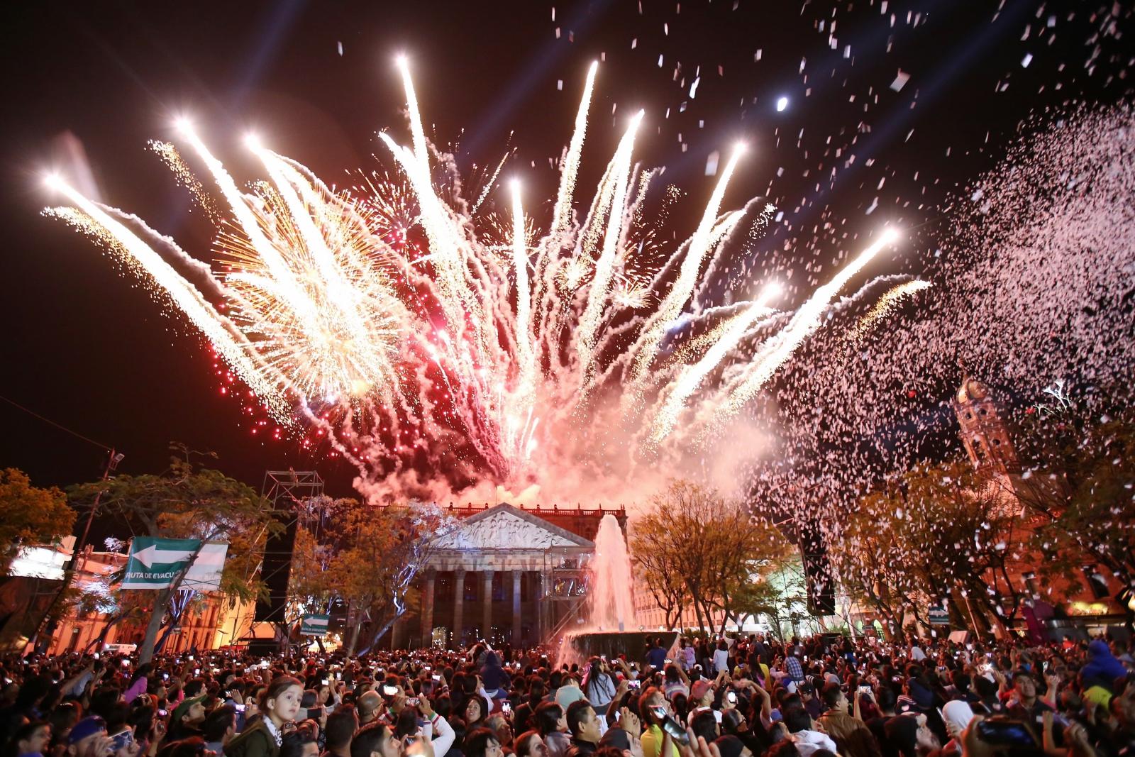 Obchody 475 rocznicy ufundowania miasta Guadalajara, Meksyk.