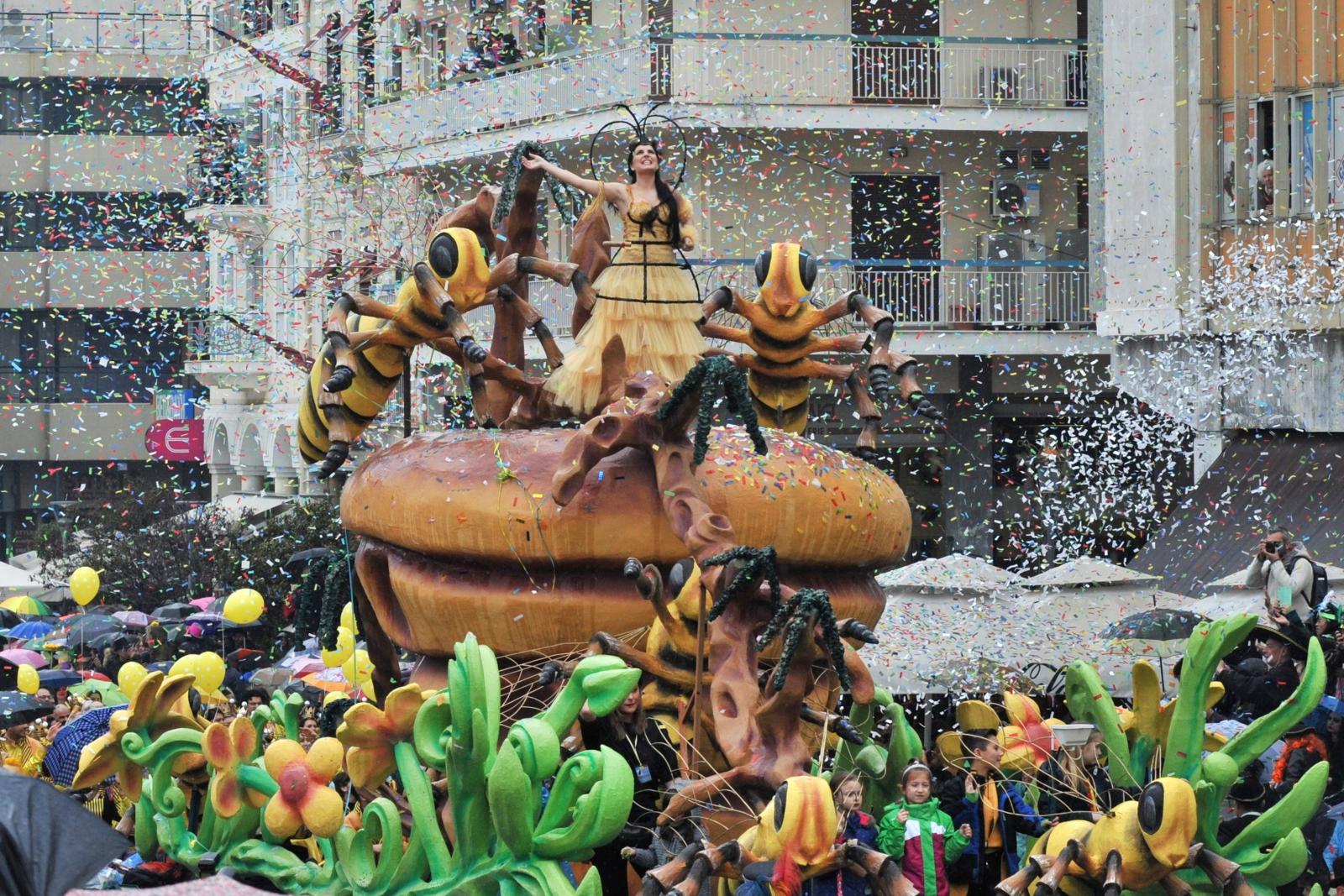Parada Karnawałowa w Patras, Grecja.