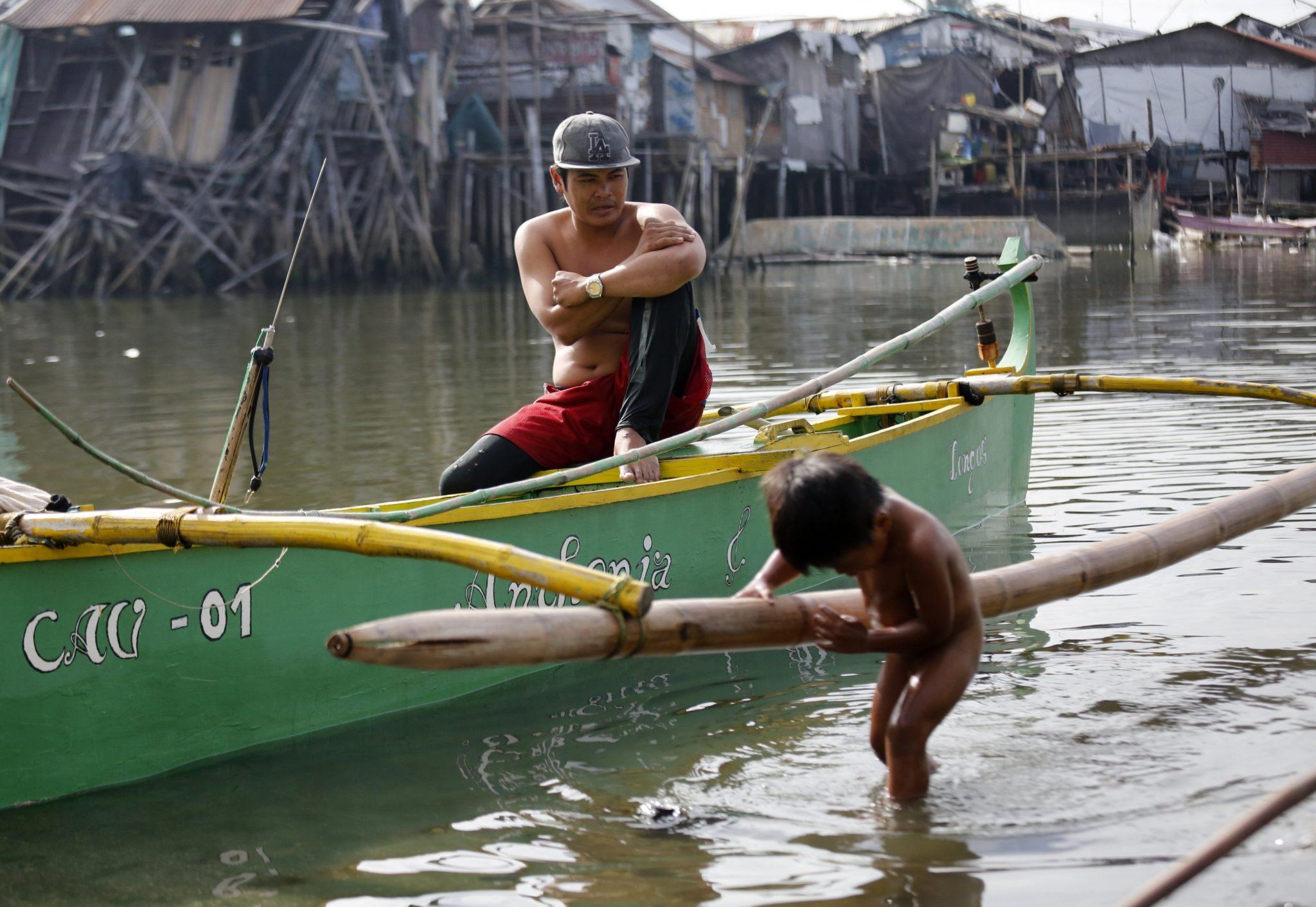 Filipiny: Światowy Dzień Wody obchodzony w Manili (foto. PAP/ EPA/FRANCIS R. MALASIG)