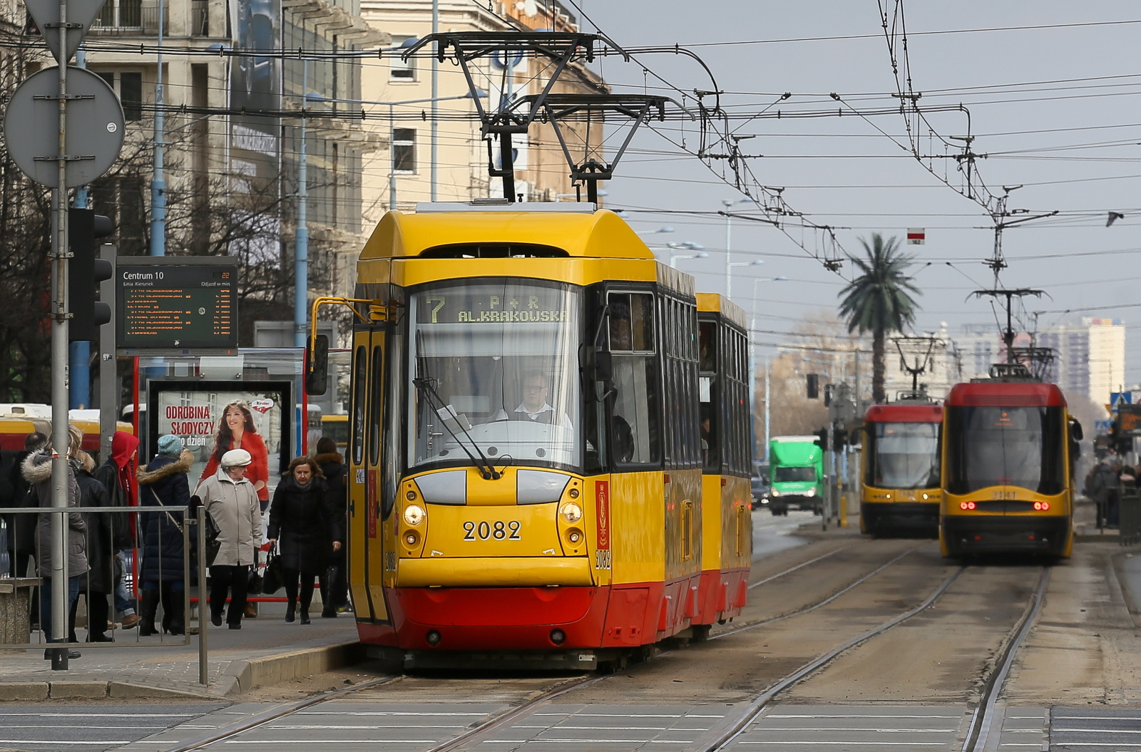 W Warszawie zapowiedziano wprowadzenie od 1 czerwca zmian w taryfie przewozowej. Fot. PAP/Paweł Supernak